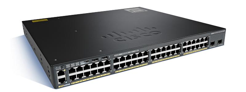 Catalyst 2960-X 48 GigE 2 x 1G SFP LAN Lite