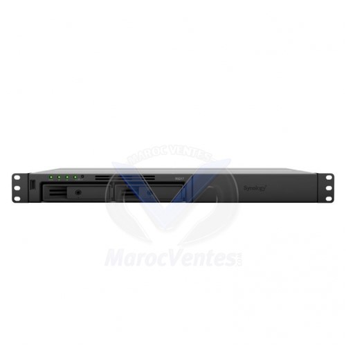 NAS Synology Rack (1 U) RS217 Boitier nu RS217