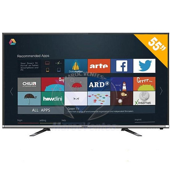 "TV Haier 55"" LED Full HD Smart 55K5000A"