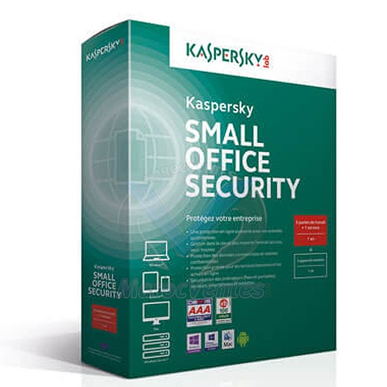 Small Office Security 5.0 - 2 Servers + 20 postes KL4533XBNFS-MAG