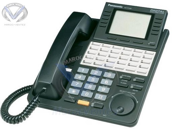 Téléphone 6-Line Display avec 24-Button Speakerphone KX-T7436