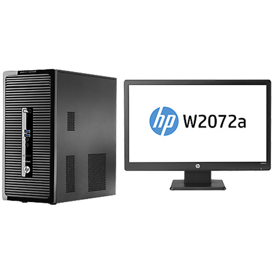 Hp prodesk 400 g2 mt intel i7 4790s ecran led w2072a 20 - Ordinateur de bureau hp intel core i7 ...
