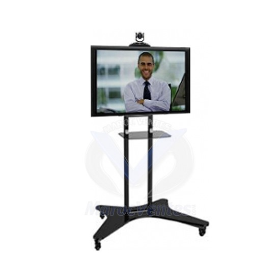 Meuble support tv robuste avec roulettes les meilleurs - Support tv avec tablette ...