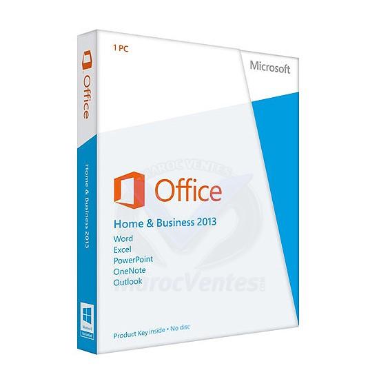 Microsoft t5d 01633 office 2013 famille et petite entreprise - Office famille et petite entreprise ...