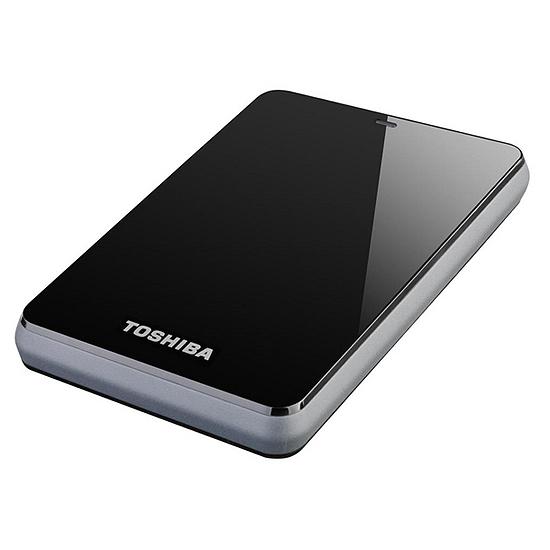 disque dur externe toshiba 500 go noir les meilleurs prix. Black Bedroom Furniture Sets. Home Design Ideas