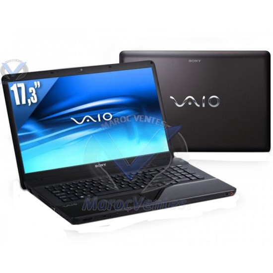 sony vaio vpc ec3m1e b pc portable intel core i5 480m 2 80ghz 17 3 pouces led les meilleurs prix. Black Bedroom Furniture Sets. Home Design Ideas