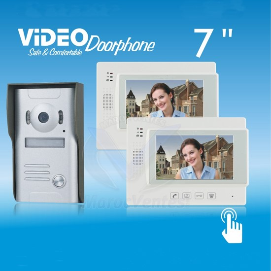 Video Doorphone ZDL-37M 1 CAMERA+2 MONTEURS VDP06